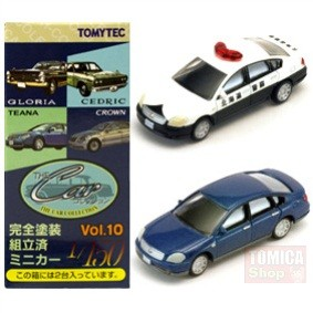 Foto Produk Tomytec Car Collection Vol.10 #08 Nissan Teana Police & Blue dari Tomica Shop