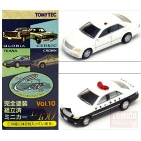 Foto Produk Tomytec Car Collection Vol.10 #10 Toyota Crown White & Police dari Tomica Shop