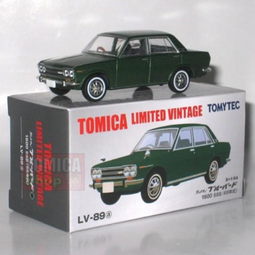 Foto Produk LV-89a Datsun Bluebird 1600 SSS Green - STOK HABIS dari Tomica Shop