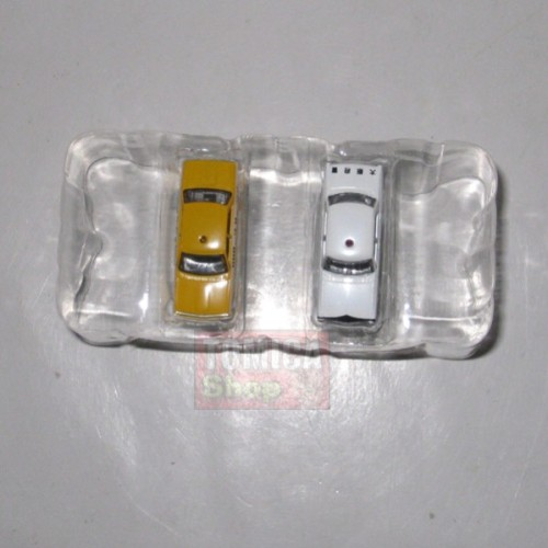 Foto Produk Tomytec Car Collection Vol.10 #13 SECRET Nissan Cedric Police White & Yellow - STOK HABIS dari Tomica Shop