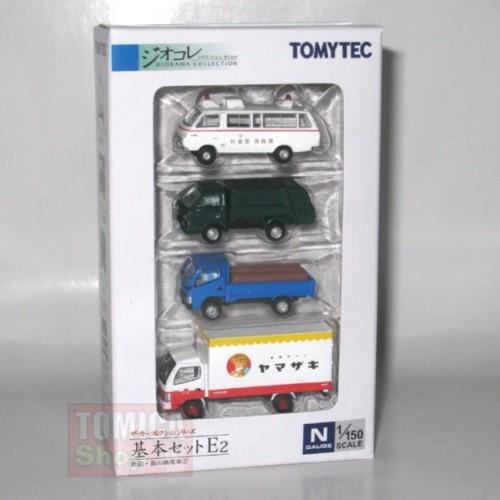 Foto Produk Tomytec Car Collection Basic Set E2 - STOK HABIS dari Tomica Shop
