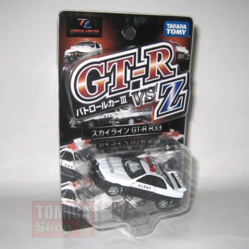 Foto Produk TL Highway Patrol Car III GT-R VSZ Nissan Skyline GT-R R33 - STOK HABIS dari Tomica Shop