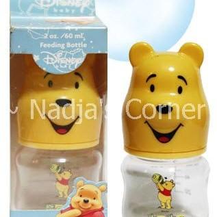 Foto Produk 60 Ml Milk Bottle With Pooh Head (BPA Free) dari Nadja's Corner