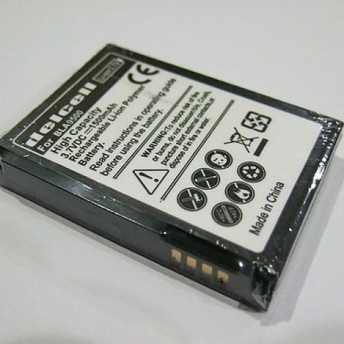 Foto Produk Battery DelCell Hi-Cap 2800mAH + Backdoor for Bold type M-S1 dari otomasi toko online