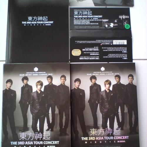 "Foto Produk TVXQ - 3rd Asia Tour ""Mirotic"" In Seoul = 3DVD dari Haruna88 Online Shop"