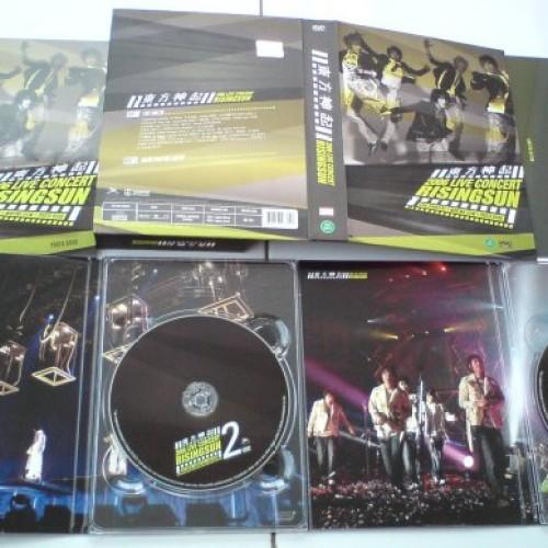 "Foto Produk TVXQ - 1st Asia Tour Concert ""Rising Sun"" = 2DVD dari Haruna88 Online Shop"