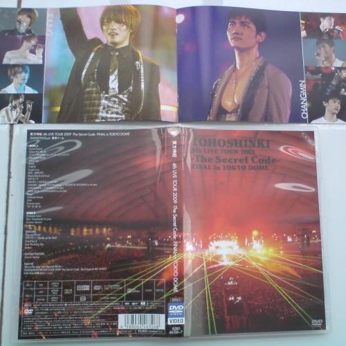 Foto Produk Tohoshinki 4th Live Tour 2009 -The Secret Code- Final in Tokyo Dome (Japan Version) = 2DVD dari Haruna88 Online Shop