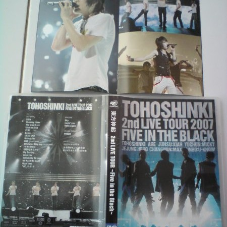 Foto Produk Tohoshinki 2nd Live Tour 2007 ~Five In the Black~ (First Press Limited Edition) = 2DVD dari Haruna88 Online Shop