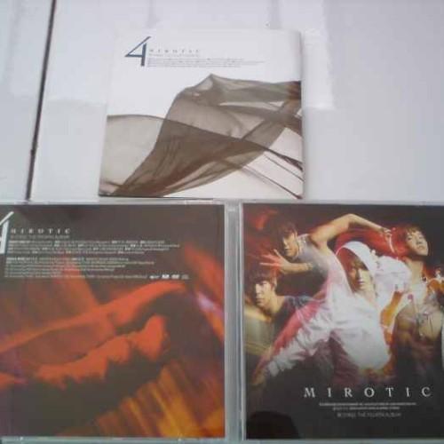 Foto Produk TVXQ Vol.4 - Mirotic (Japan Version) = 1CD + 1DVD dari Haruna88 Online Shop