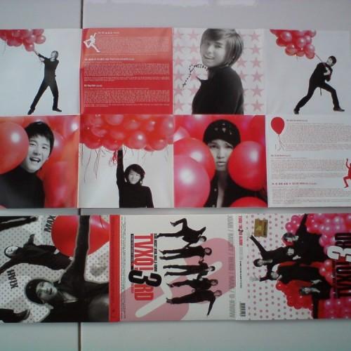 Foto Produk TVXQ Vol.3 - O Jung Ban Hap Version C = 1CD + 1DVD dari Haruna88 Online Shop