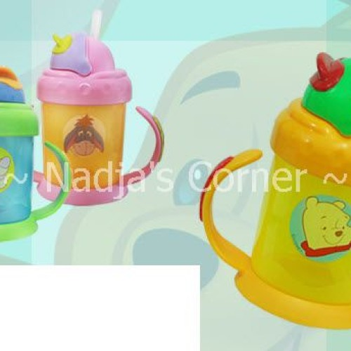 Foto Produk Pooh handle straw cup dari Nadja's Corner