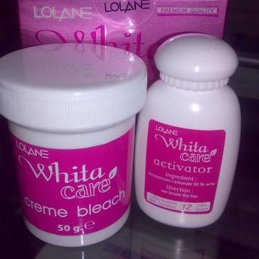 Foto Produk LOLANE WHITA CARE Creme Bleach PEMUTIH KOLAGEN dari Cantique Shop