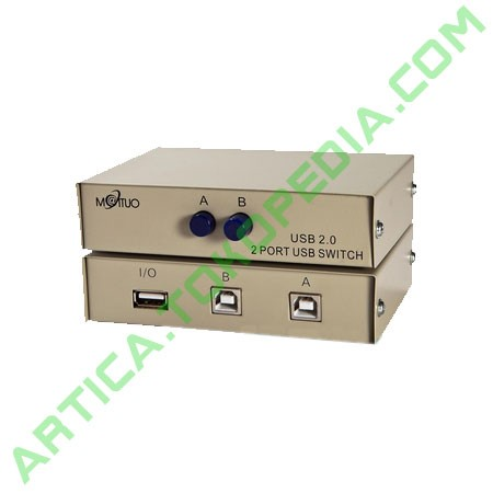 Foto Produk USB Manual Data Switch 2 Port dari Artica Computer