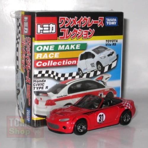 Foto Produk One Make Race Car Collection Mazda Roadster Red - SALE dari Tomica Shop