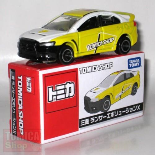 Foto Produk Tomica Shop Mitsubishi Evolution X Yellow - STOK HABIS dari Tomica Shop