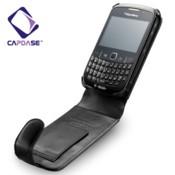 Foto Produk Capdase Original Leather Case Flip Top Type Blackberry Gemini/kepler 9300 dari Toko Meiya