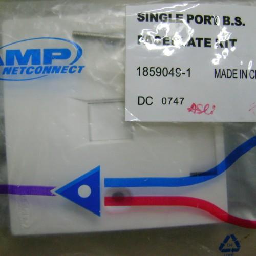 Foto Produk AMP Faceplate 1 hole dari Cipta Trading