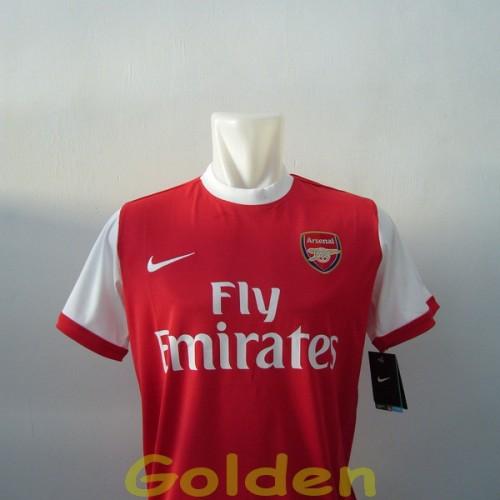 Foto Produk Jersey Arsenal Home 2010 - 2011 dari Red Dragon Shop