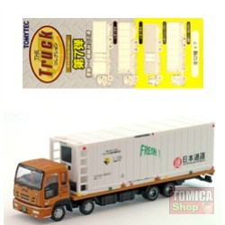 Foto Produk Tomytec Truck Collection Vol.07 #11 31 Feet Refrigerated Container Nippon Express dari Tomica Shop