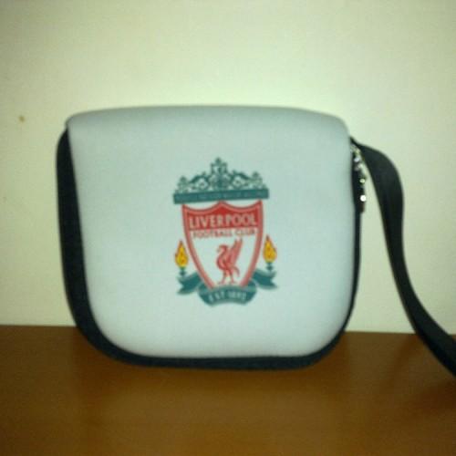 Foto Produk CD Holder Kain - Liverpool dari Soccer House