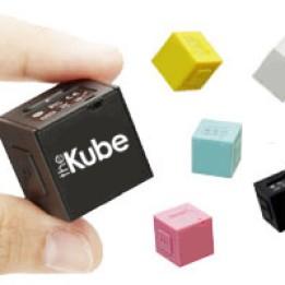 Foto Produk Mp3 Player Terkecil Cuma 2,2cm x 2,2cm x 2,2cm - The Kube dari E-Cigarette Shop