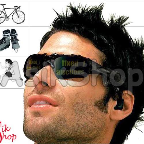 Foto Produk Kacamata Kamera + MP3 4GB dari Toko Asik
