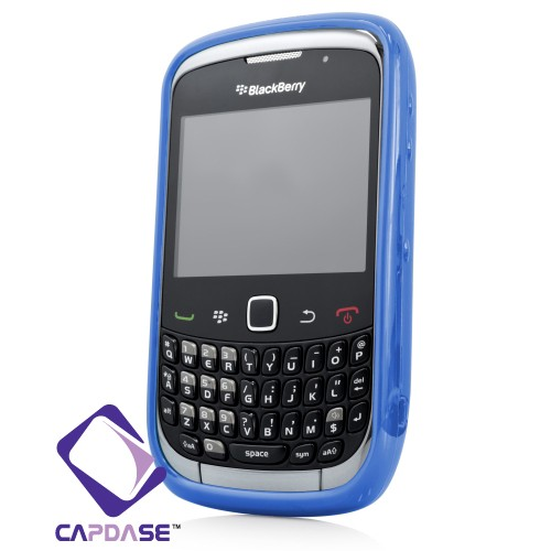 Foto Produk Capdase Original Softjacket Fuze Blackberry Gemini 8520 / 9300 Blue dari Licia Cellular