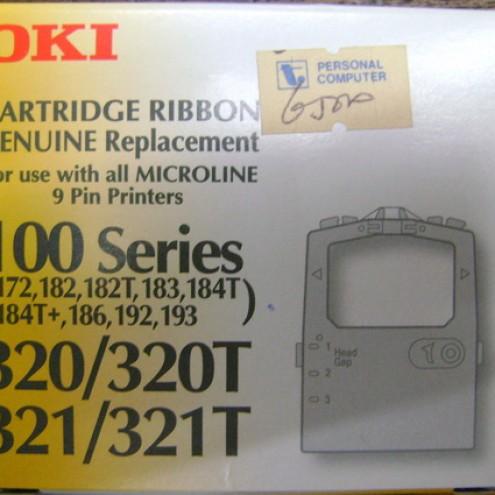 Foto Produk Ribbon Cartridge oki 320/320T, 321/321T For 100 Series dari Cipta Trading