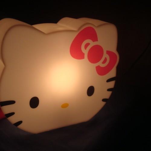 Foto Produk  Hello Kitty Lamp + Coin Bank (Bentuk Kepala HK) dari Lime Lime