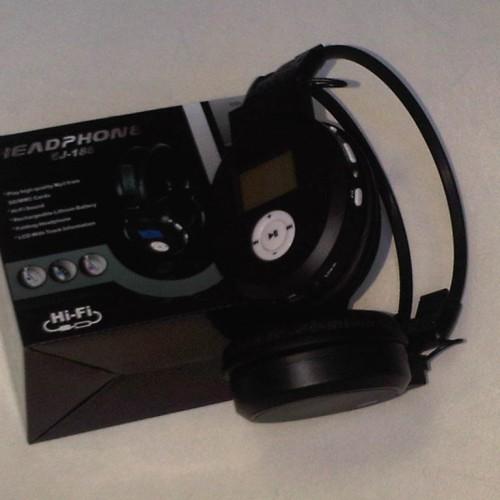 Foto Produk Headset Tanpa Kabel EJ-188 dari eight computer