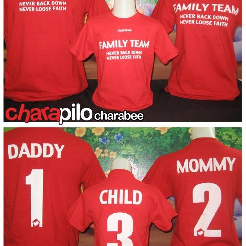 Foto Produk KAOS FAMILY ** MOTIF FAMILY TEAM dari AthaDriMeL ShoP