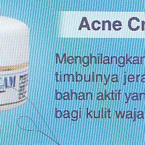 Foto Produk Acne Cream dari Flower Collection
