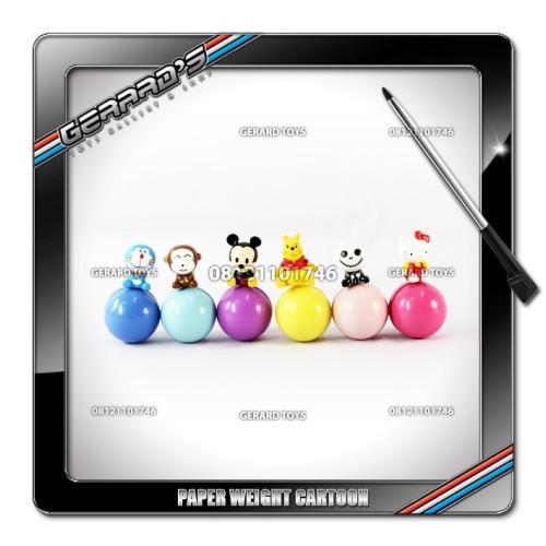 Foto Produk Paper Weight Cartoon isi 6 dari GERARD-TOYS