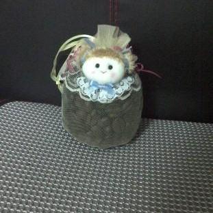 Foto Produk Gantungan Kopi Biji Model Boneka Kecil dari DW Coffe Shop