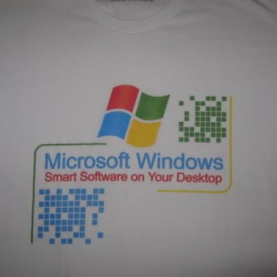 Foto Produk Kaos Windows - Smart Software on Your Desktop dari AthaDriMeL ShoP