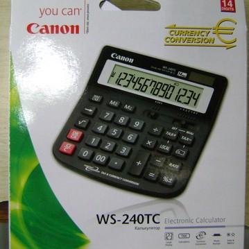 Foto Produk Calculator Canon WS-240TC dari Cipta Trading