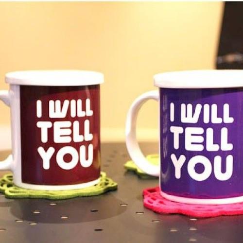 Foto Produk I will tell I Love U Mug dari GERAI UNIK