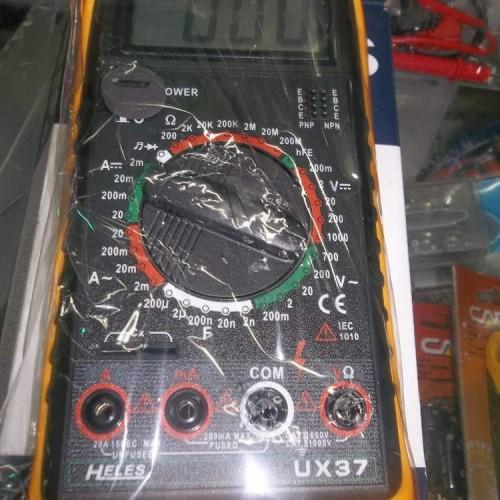 Foto Produk Avometer/Multitester Digital Merk Heles (UX37) dari Delilahshop