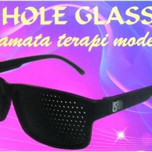 Foto Produk Kacamata Terapi Pinhole Glasses Glossy dari Surga Reseller