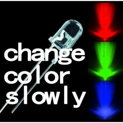 Foto Produk LED 5mm seven color slow flashing LED,two pins RGB dari MEGAVISION