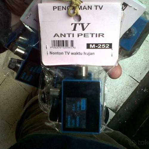 Foto Produk ANTI PETIR TV dari Kios Pedia