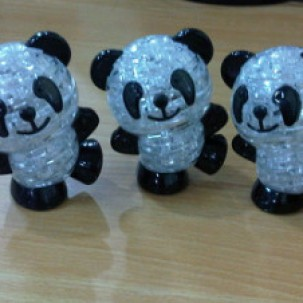 Foto Produk Puzzle 3D Panda (With LED) dari Lovely collections