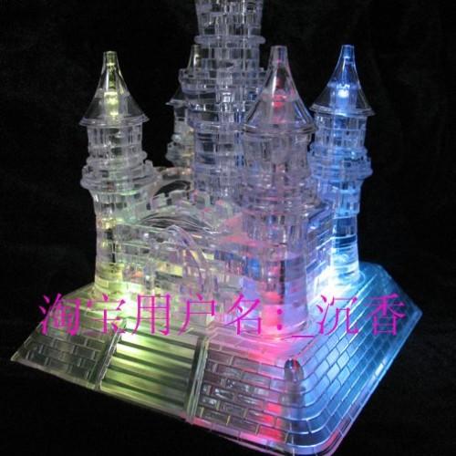 Foto Produk Puzzle 3D Castle (LED+Music) dari Lovely collections