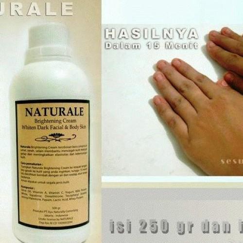 Foto Produk Naturale Bleaching Cream - 500gr dari Margareth Shop