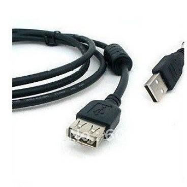 Foto Produk Kabel  USB2.0 Extension A Male To B Female Black 3m (With Ferite) dari Aiti