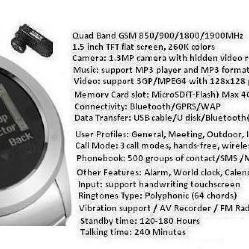 Foto Produk WATCHPHONE MI08 ( Jam Handphone  ) dari MurahMeriahTech