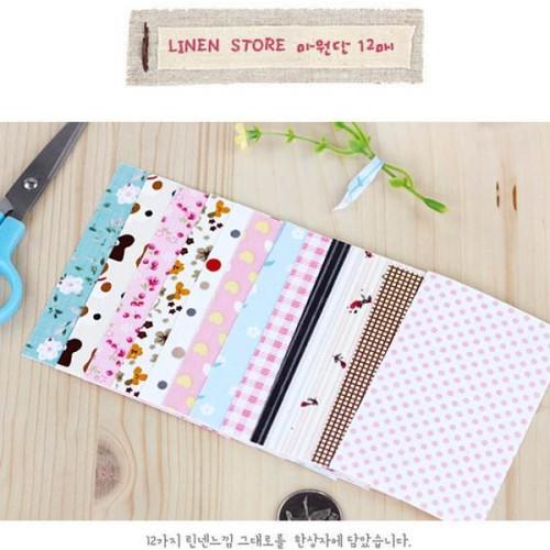 Foto Produk Fabric sticker set small (isi 12 lembar) dari GERAI UNIK