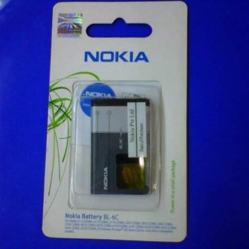 Foto Produk Nokia Battery  BL-6C. 100% Original (Packing) dari Eben Haezer Net