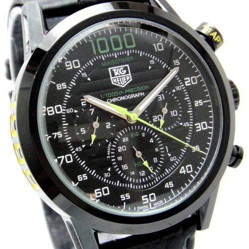 Foto Produk Tag Heuer 1000 Mikrotimer  leather full chrono dari Uishop
