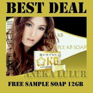 Foto Produk KYUSAKU BIHAKU (KB pills) FREE KB soap mini dari KILAU CANTIK